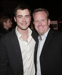 Matt Long and Producer David Robinson at the premiere of