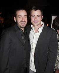 Director Joe Nussbaum and Matt Long at the premiere of