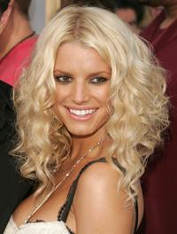 Jessica Simpson at the 2005 MTV Video Music Awards.