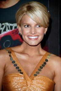 Jessica Simpson at the premiere of