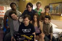 Donte Bonner, Adam Hendershott, Danny Strong, Jack Carpenter, Amanda Bynes, Jeremy Howard, Arnie Pantoja and Samm Levine in