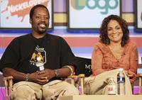 Kadeem Hardison and Jasmine Guy at the 2006 Summer Television Critics Association Press Tour.