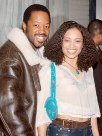 Kadeem Hardison and Melissa De Sousa at the premiere of
