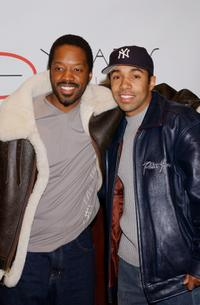 Kadeem Hardison and Allen Payne at the premiere of