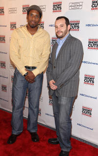 Al Thompson and Brian Rolling at the premiere of