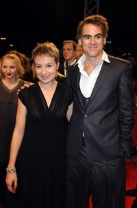 Anamaria Marinca and Sebastian Blomberg at the premiere of
