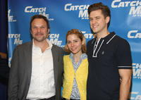 Norbert Leo Butz, Kerry Butler and Aaron Tveit at the Broadway Rehearsal Sneak Peek of