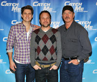 Aaron Tveit, Norbert Leo Butz and Tom Wopat at the photocall of