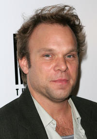 Norbert Leo Butz at the after party of the opening night of