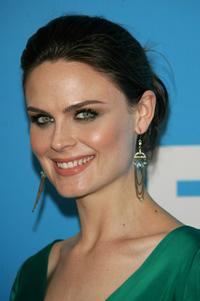 Emily Deschanel at the FOX 2007 Programming presentation.