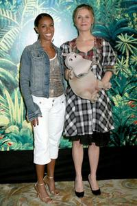 Jada Pinkett Smith and Marina Fois at the photocall of