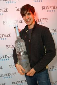 Christopher Gorham at the Belvedere Luxury Lounge in honor of the 80th Academy Awards.
