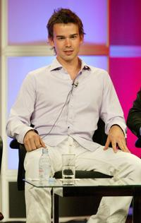Christopher Gorham at the panel discussion of