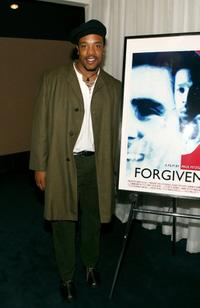 Russell Hornsby at the screening of