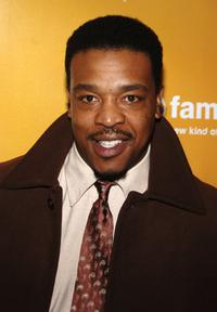 Russell Hornsby at the ABC Family 25 Days Of Christmas Winter Wonderland Event.