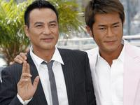 Louis Koo and Simon Yam at the photocall of