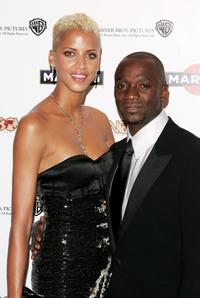 Noemie Lenoir and Guest at the after party to promote