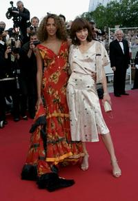 Noemie Lenoir and Milla Jovovich at the screening of
