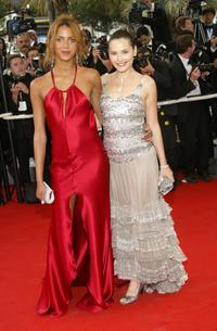 Noemie Lenoir and Virginie Ledoyen at the closing night ceremony and the screening of