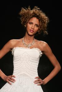 Noemie Lenoir at the Chopard Fashion Show during the Paris Fashion week.