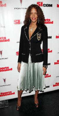 Noemie Lenoir at the 2005 Sports Illustrated Swimsuit Issue Event.