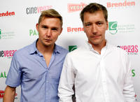 Brian Geraghty and Kel O'Neill at the premiere of