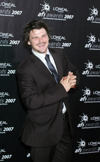 Nathan Phillips at the L'Oreal Paris 2007 AFI Awards Dinner.