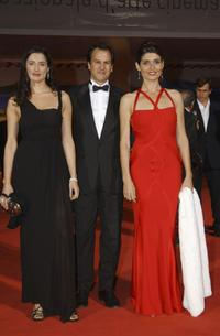 Luisa Ranieri, Christopher Buchholz and Regina Nemni at the premiere of