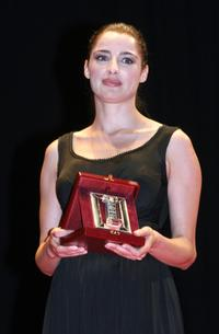 Luisa Ranieri at the Italian Movie Awards.
