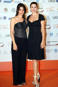 Donatella Finocchiaro and Luisa Ranieri at the Roma FictionFest.