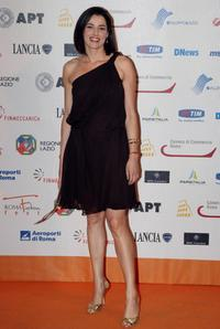 Luisa Ranieri at the Roma Fiction Fest 2008.