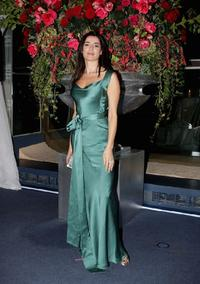Luisa Ranieri at the Montblanc VIP Charity Gala Dinner.