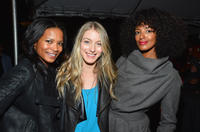 Rose Rollins, Laura Seay and Ella Thomas at the VIP screening and after party of