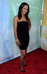 Rose Rollins at the 2010 TCA Summer Party in California.
