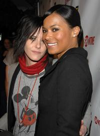 Katherine Moenning and Rose Rollins at the season 5 premiere party of