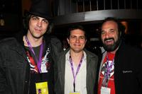 Sean Pierce, Zach Shaffer and Steve Saporito at the New York filmmaker party during the 2008 Tribeca Film Festival.