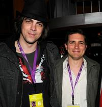 Sean Pierce and Zach Shaffer at the New York filmmaker party during the 2008 Tribeca Film Festival.