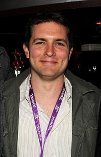 Zach Shaffer at the New York filmmaker party during the 2008 Tribeca Film Festival.