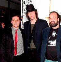 Zach Shaffer, Sean Pierce and Steve Saporito at the premiere of