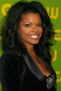 Keesha Sharp at the CW Launch Party.