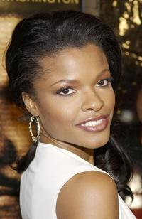 Keesha Sharp at the premiere of