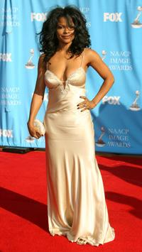 Keesha Sharp at the 38th annual NAACP Image Awards.