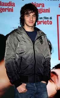 Alessandro Sperduti at the Milan Photocall of