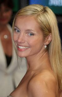 Nadja Uhl at the Bambi Award.
