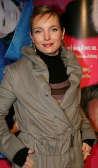 Nadja Uhl at the German premiere of