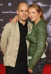 Kay Bockhold and wife Nadja Uhl at the German premiere of