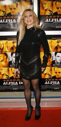 Heather Wahlquist at the premiere of