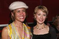 Vanessa Parise and Petra Wright at the closing night premiere of