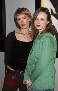 Petra Wright and Thora Birch at the closing night premiere of