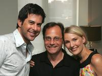 Jonathan Silverman, Ira Deutchman and Petra Wright at the special screening of